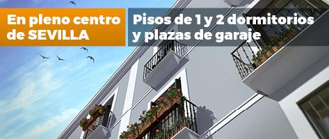 Edificio Almirante. Pisos y garajes en pleno centro de Sevilla
